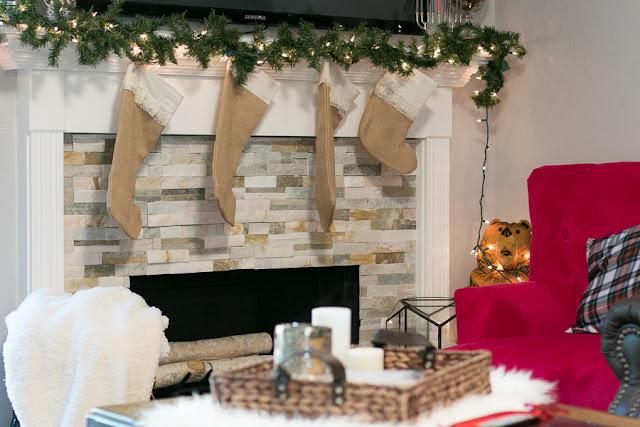 simple christmas decor parlor girl home