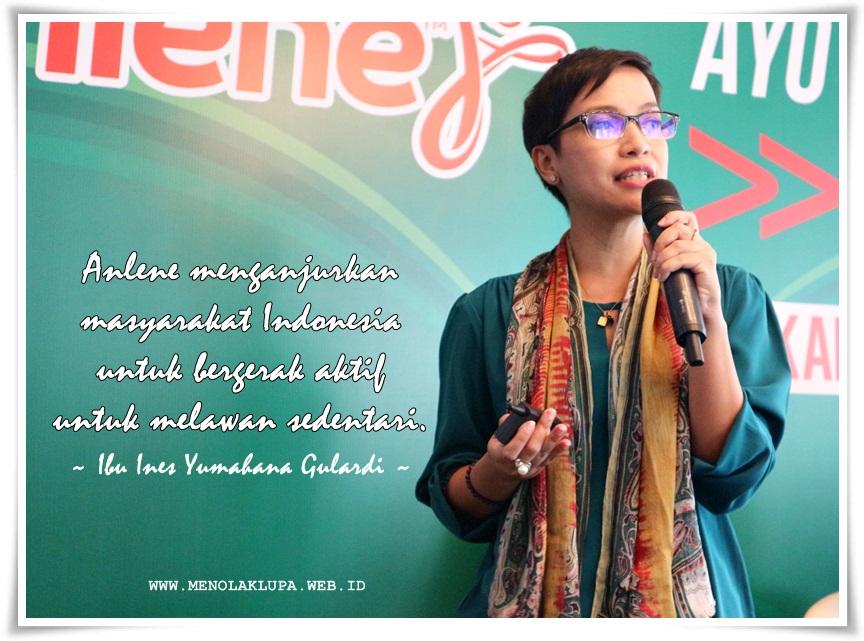 Anlene ajak masyarakat untuk melawan gaya hidup sedentari melalui Ayo Indonesia Bergerak
