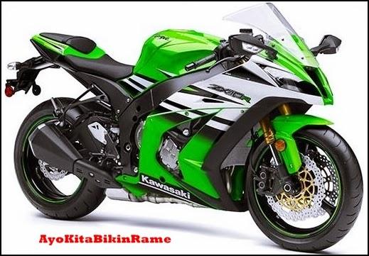 Motor Kawasaki Ninja ZX10R 2015