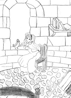 Coloriages Sur Mesure: Dessin à colorier: La Princesse