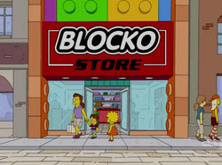 Watch The Simpsons Blocko Episode Online Cartoon Free