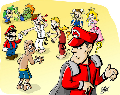 street-fighter-sagat-ryu-bison-mario-luigi-peach