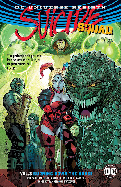 suicide squad burning down the house dc comics
