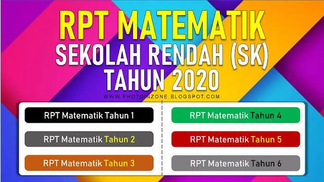 RPT Matematik Sekolah Rendah tahun 2020