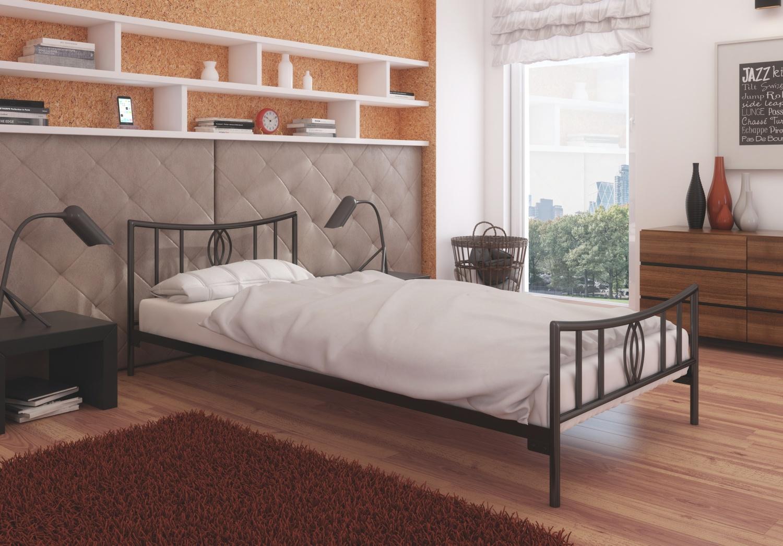 Łóżko metalowe wzór 11