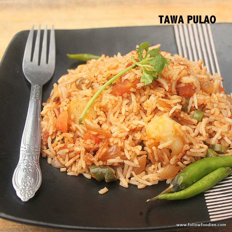 TAWA PULAO RECIPE | HOW TO MAKE TAWA PULAO