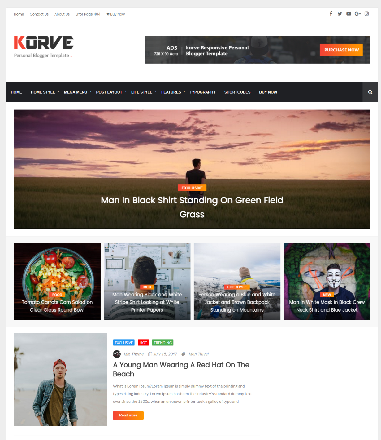 Best Blogger Templates Responsive Themes Wordpress Themes