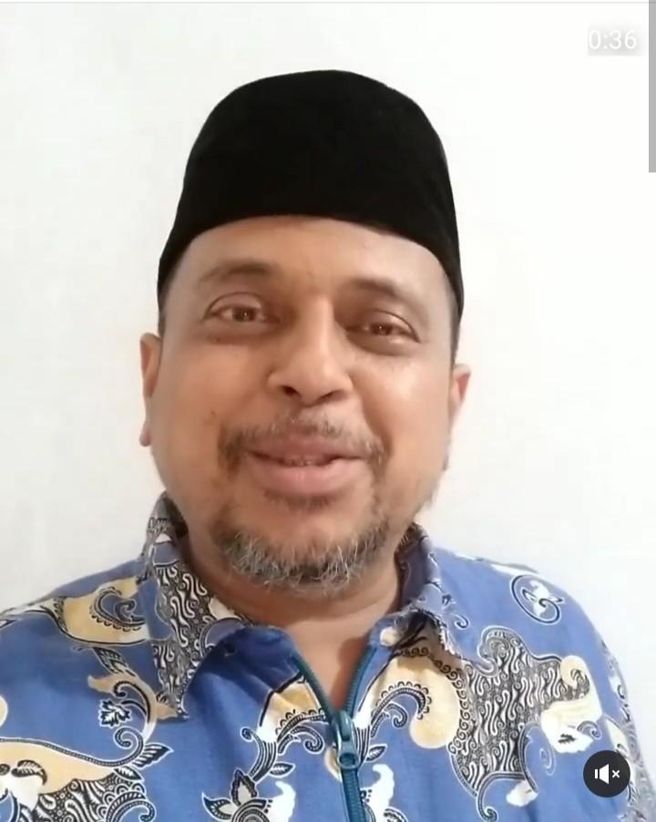 Buntut Pelaporan, Ust Haikal Menangis Baca Doa dari Jamaah