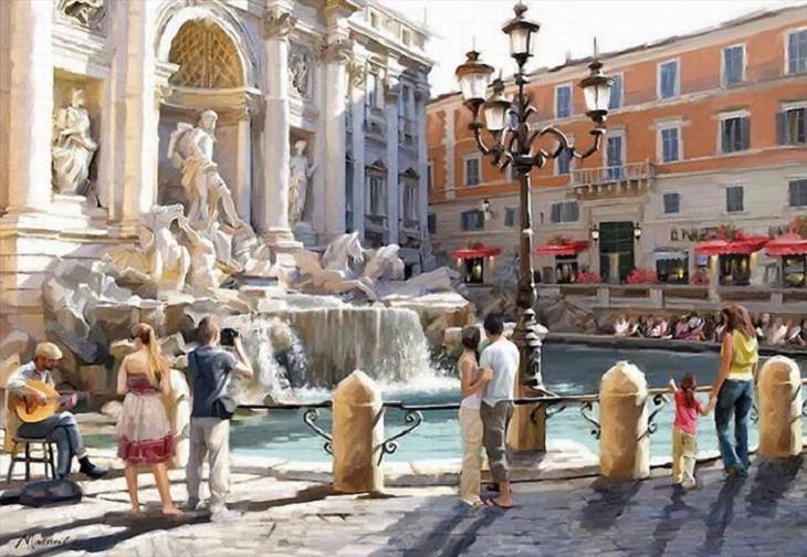 Richard Macneil Trevi Fountain