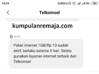 Cara Mendapatkan Paket Internet Gratis 1 GB dari mengisi Survey Telkomsel