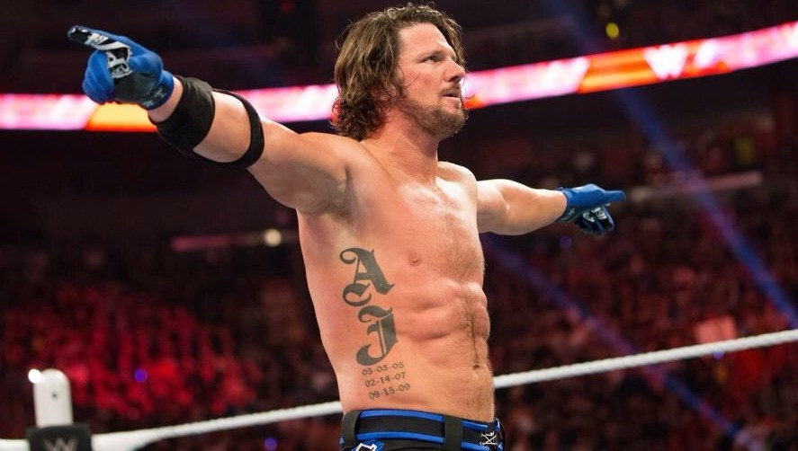 A.J. Styles twitter profile photos raed story