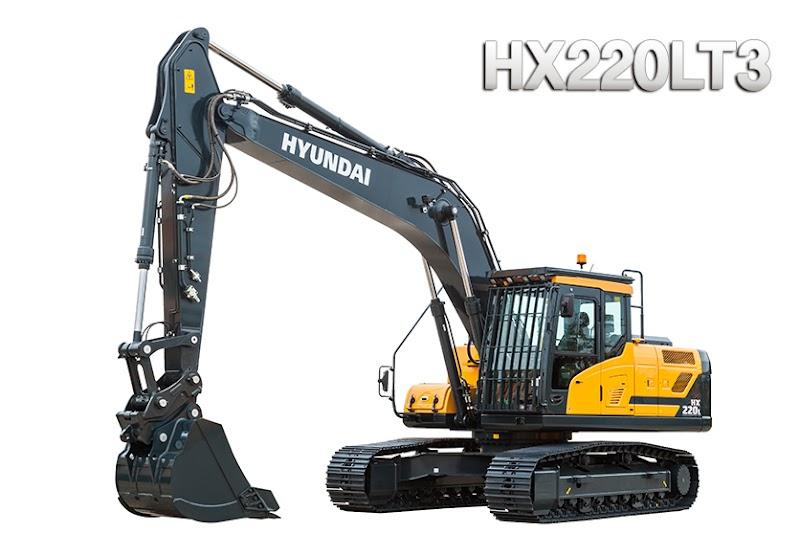 Hyundai Excavators HX220LT3