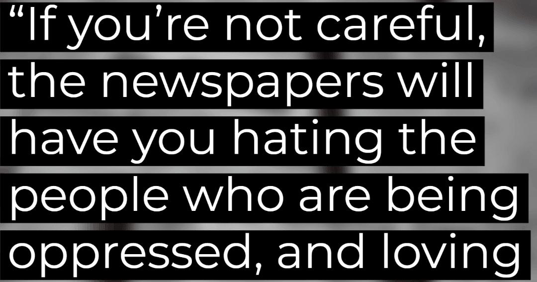 Malcolm X Media Quotes