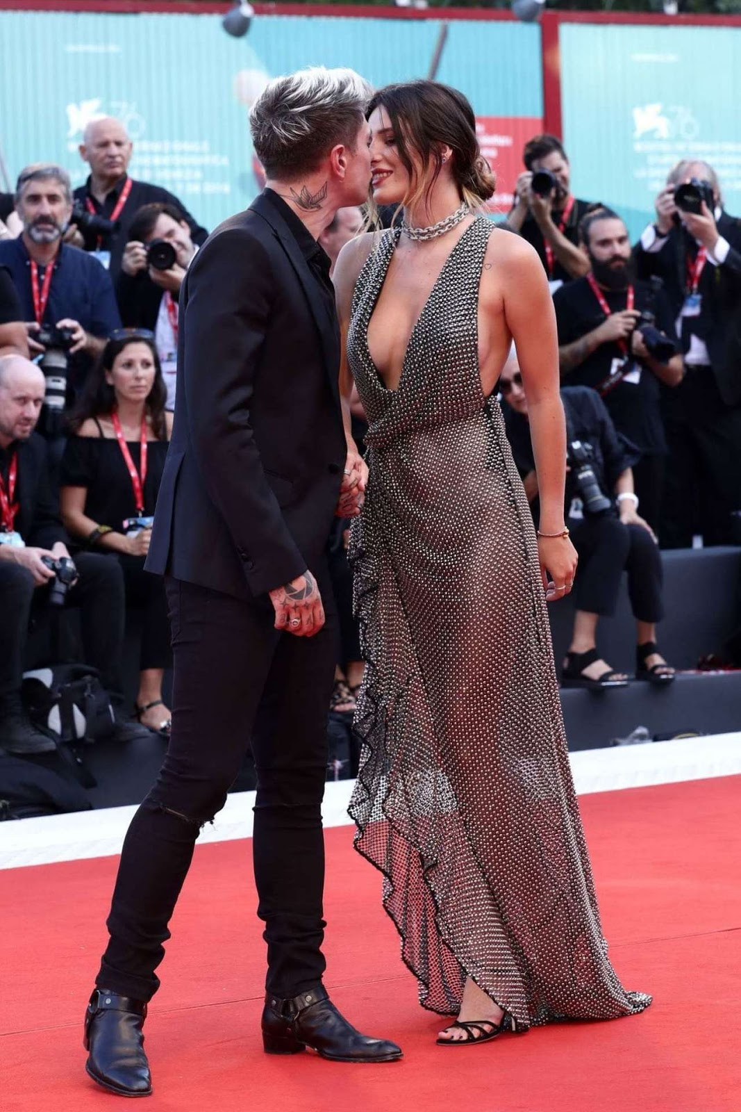 Bella Thorne at the Premiere of 'Joker' at Venice Film Festival 2019