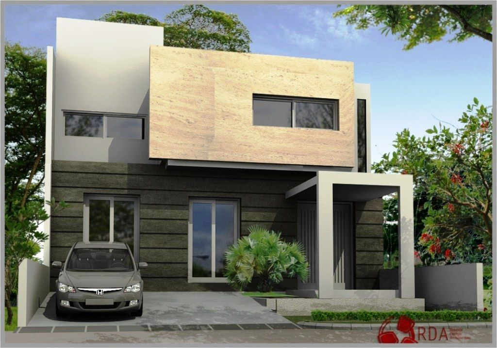 Model Desain Rumah Idaman 2 Lantai Modern Sederhana
