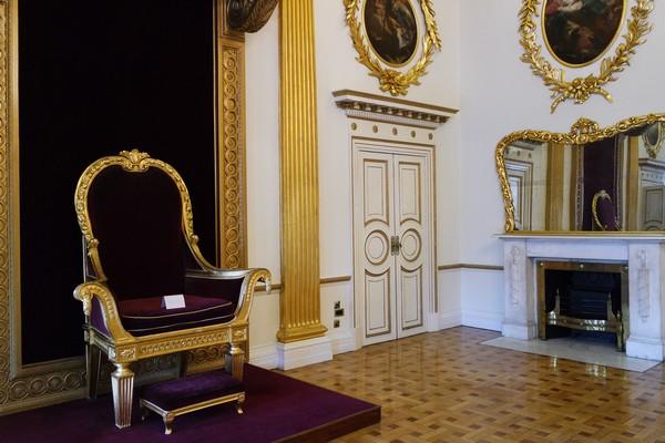 dublin château castle salle trône