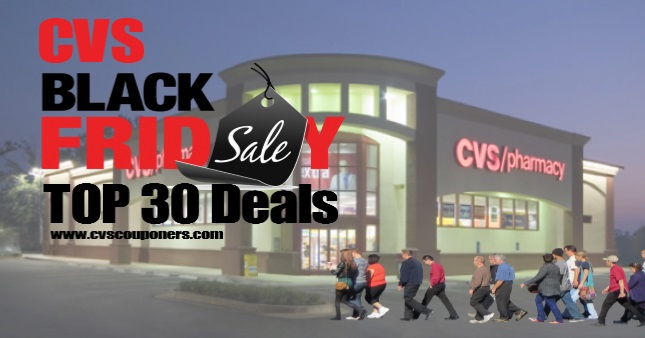 Top 30 Black Friday Deals at CVS