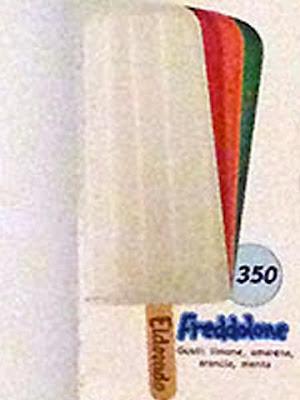 Ghiacciolo Freddolone della Algida / Eldorado del 1990
