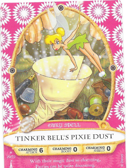 Tinker Bell's Pixie Dust Spell Card 20/70