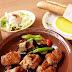 サイゼリア「鶏肉のオーブン焼きランチ」 500円(税込)