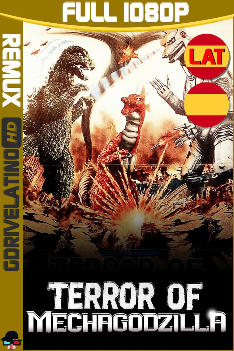 El Terror de Mechagodzilla (1975) BDRemux 1080p Latino-Castellano-Japones MKV