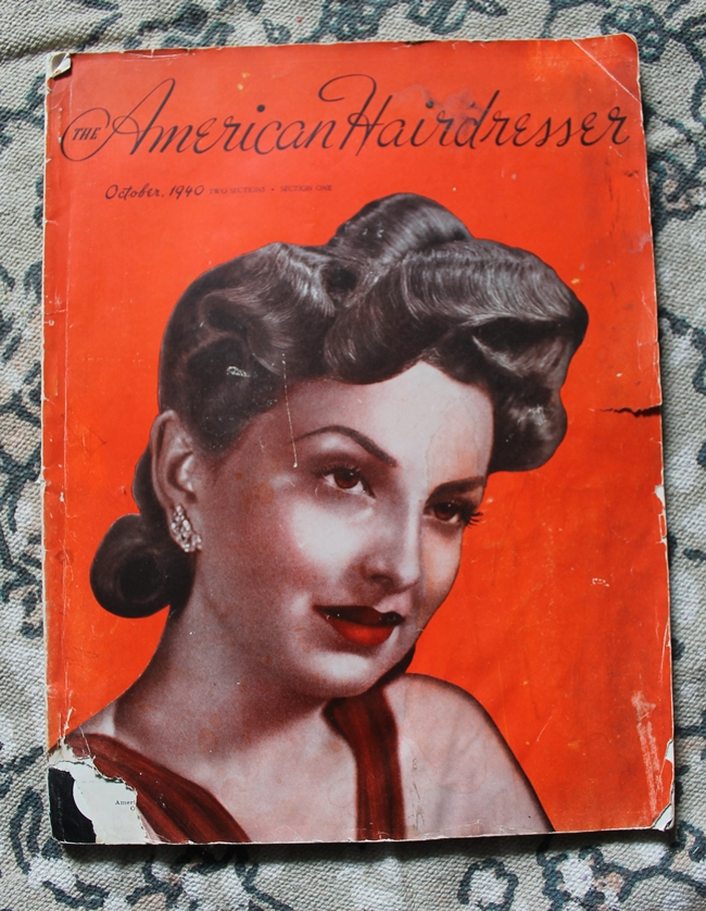 1940s american hairdresser magazine