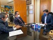 Prefeito Antônio França cumpre vasta agenda em Brasília em busca de melhorias para Pedreiras.