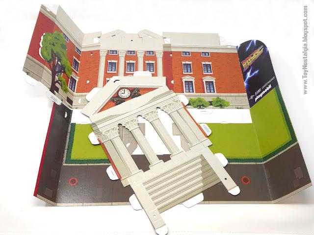 Edificio de Torre del Reloj troquelado para armar Playmobil Regreso al Futuro - Calendario de Adviento (Playmobil Back To The Future - Calendario de Adviento)