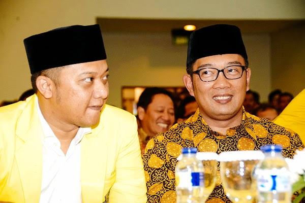 Geger, Ridwan Kamil Disebut-sebut Incar Kursi Ketua Golkar Jabar, Demi Panggung 2024?