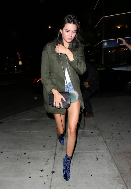 Kendall Jenner Arriving at The Nice Guy in West Hollywood
