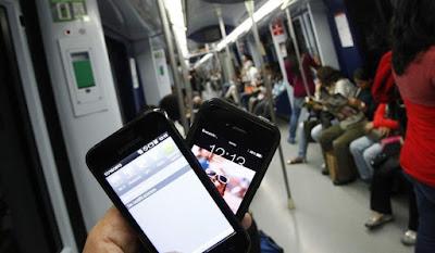 Mòbil sota terra: cobertura al metro