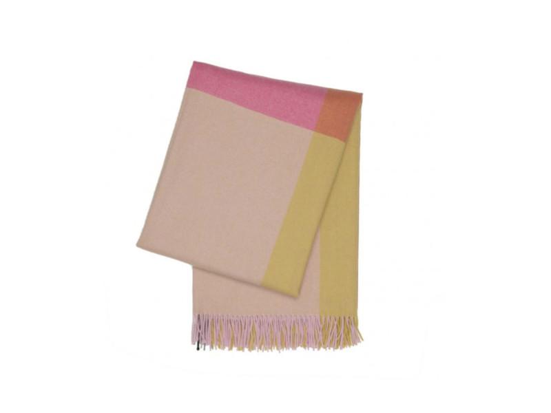 Colour-Blocking für's Sofa: Decke von Vitra