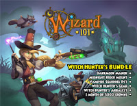 Wizard101 Witch Hunter's Bundle Darkmoor