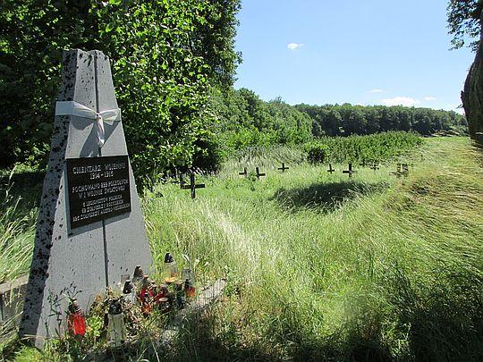 Cmentarz wojenny 1914-1915.