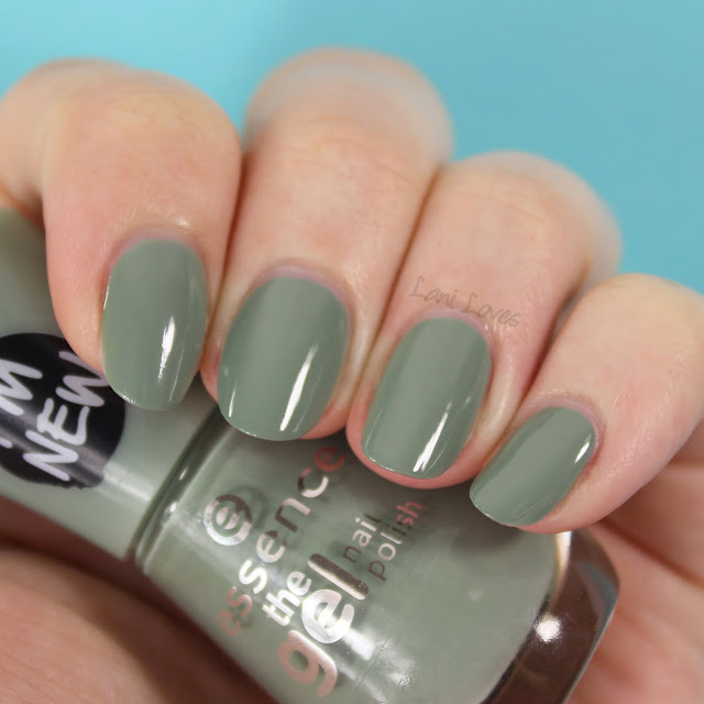 Essence The Gel Nail Polish - Pretty Cool Life Swatches & Review