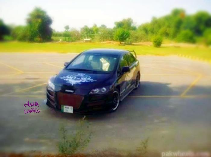 Modified Honda Civic Reborn 2010 Black