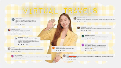 jessica jung virtual travel