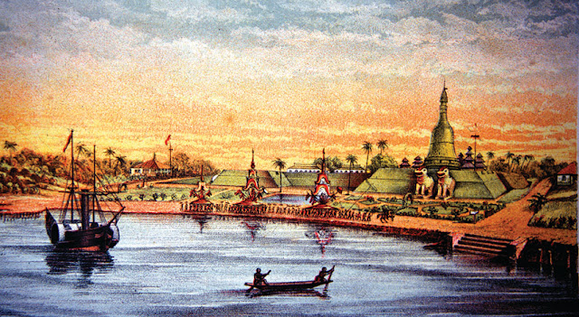 shwedagon pagoda 17 th century