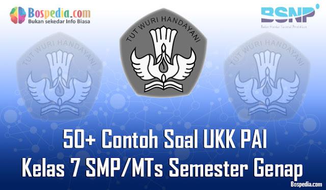 50+ Contoh Soal UKK PAI Kelas 7 SMP/MTs Semester Genap