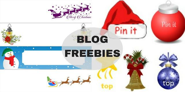 Δωράκια για το blog σου για τα Χριστούγεννα