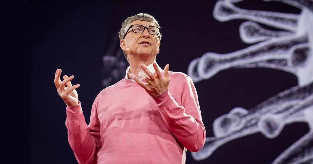 Atividade suspeita: Bill Gates revela um plano para rastrear pacientes com COVID