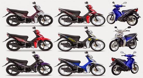 Daftar Harga Motor Yamaha Terbaru 2015