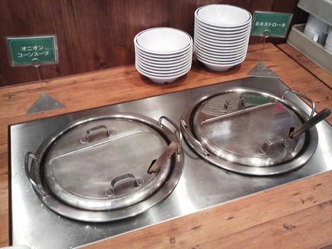 ビュッフェコーナー:スープ ステーキガスト一宮尾西店8回目
