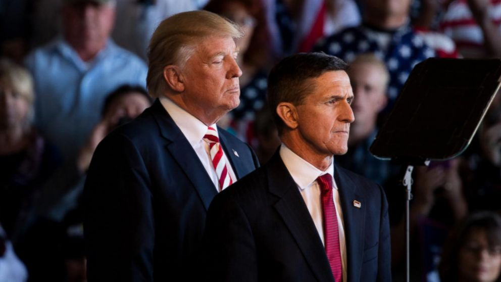Trump says that his former National Security Advisor Flynn was tormented by dirty cops