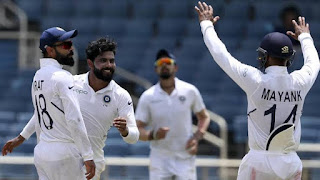 India vs West Indies: Virat Kohli & Co thrash Windies by 257 runs to clinch Test...