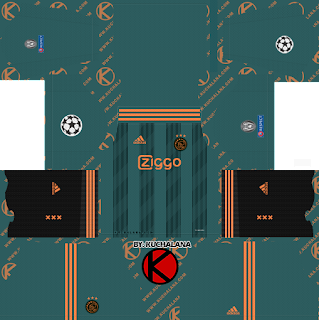 AFC Ajax 2019/2020 champions league Kit - Dream League Soccer Kits