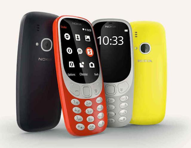 Ponsel Klasik Modern, Nokia 3310 2017 Akhirnya Resmi rilis