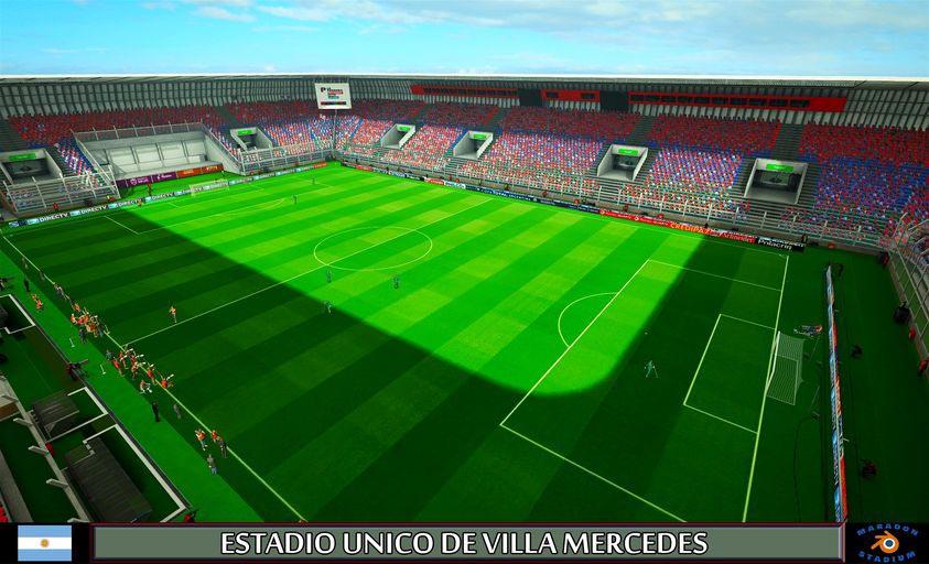Estadio Unico de Villa Mercedes For PES 2013