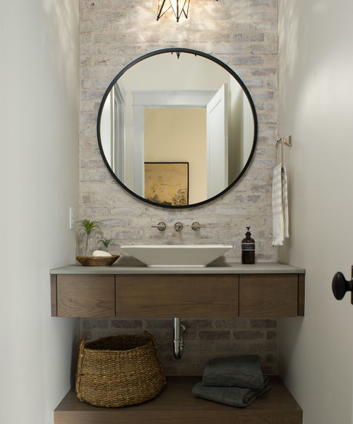Modern Powder room design and decorating ideas