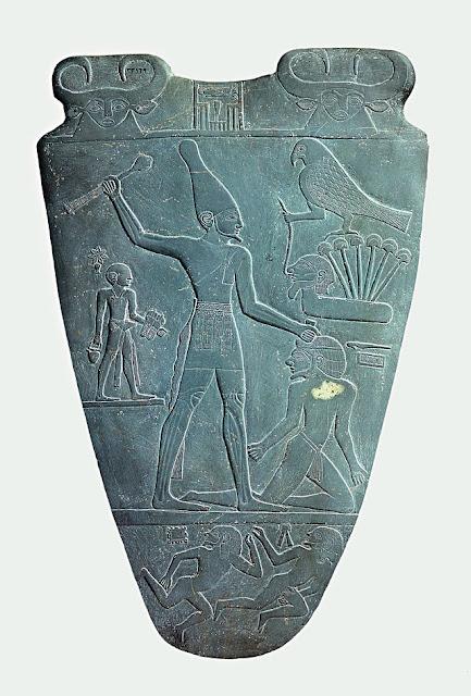 The Narmer Palette c.3100 BCE, Egyptian Museum, Cairo